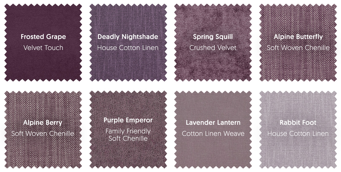 Purple Upholstery Fabrics