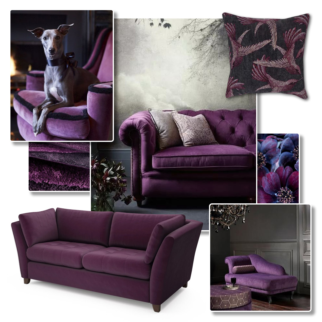 Purple Pinboard