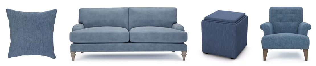 Denim Blue Sofas