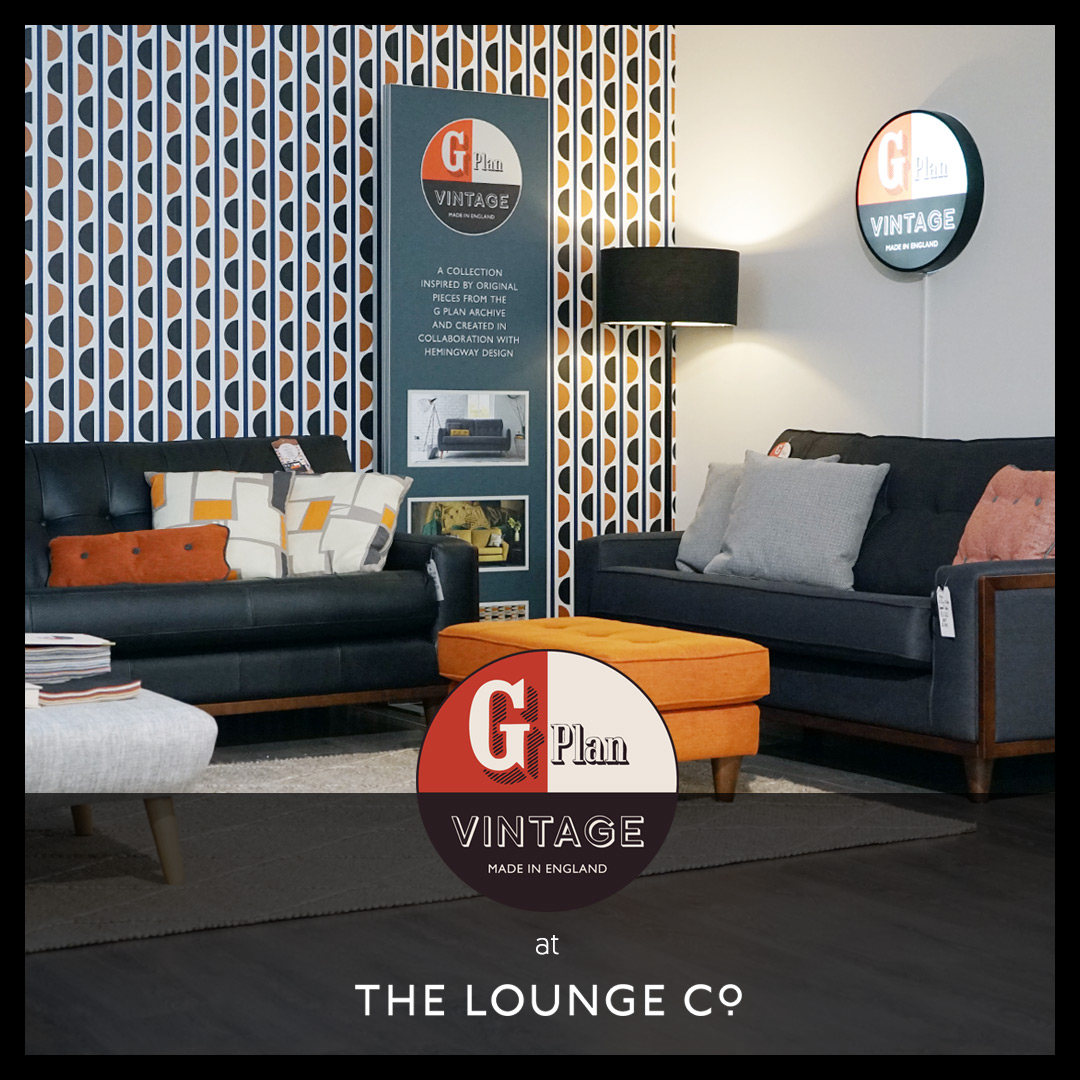 G Plan Vintage at The Lounge Co.