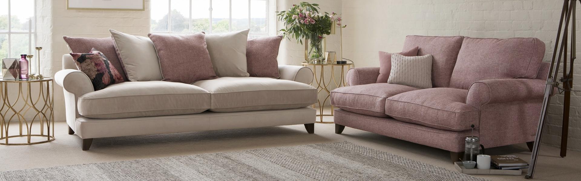 Briony Pillow Back Sofa