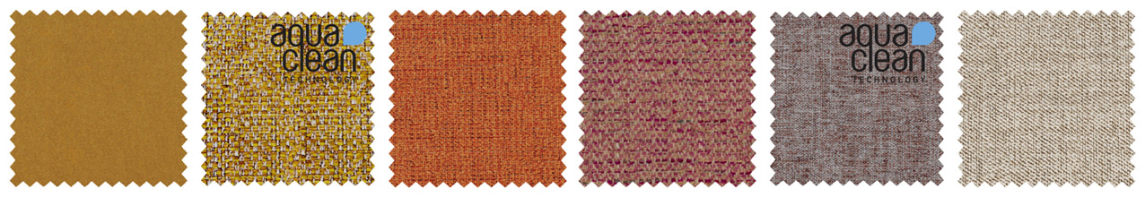 Fabrics in Spicy Shades