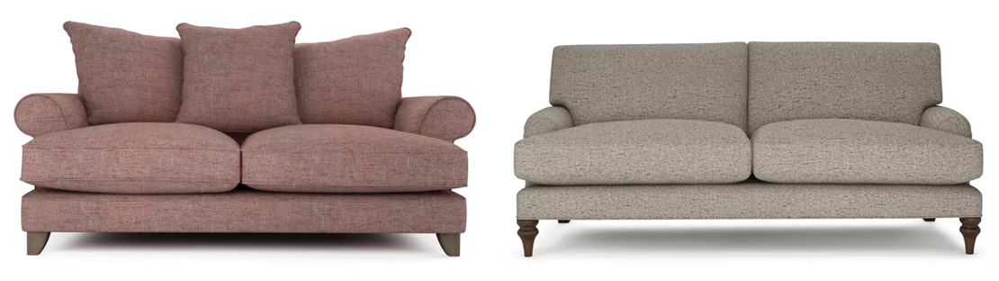 Traditional Tweed Sofas