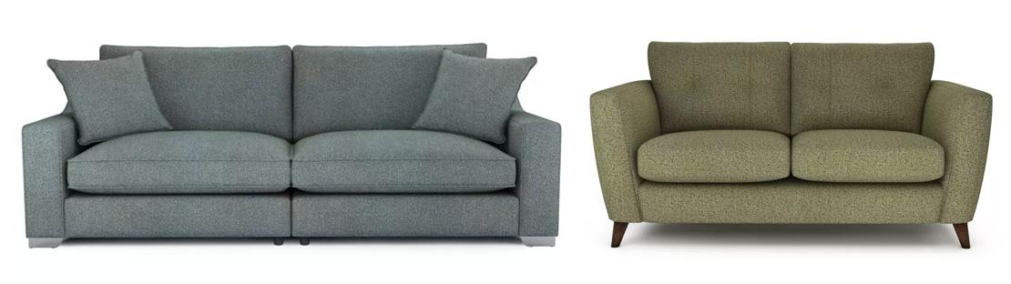 Modern Tweed Sofas