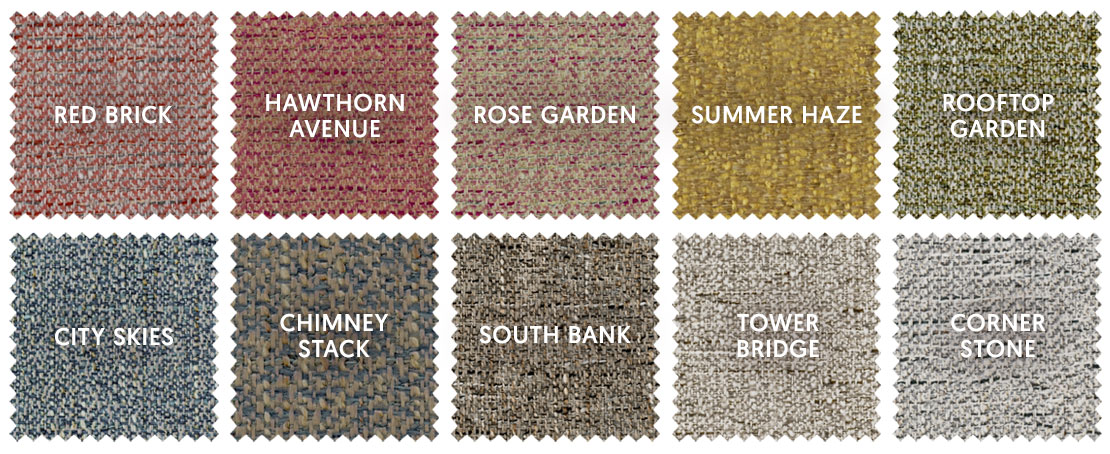 Urban Tweed Swatches