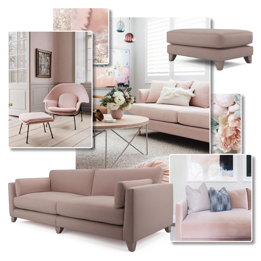 Blush Pink Moodboard