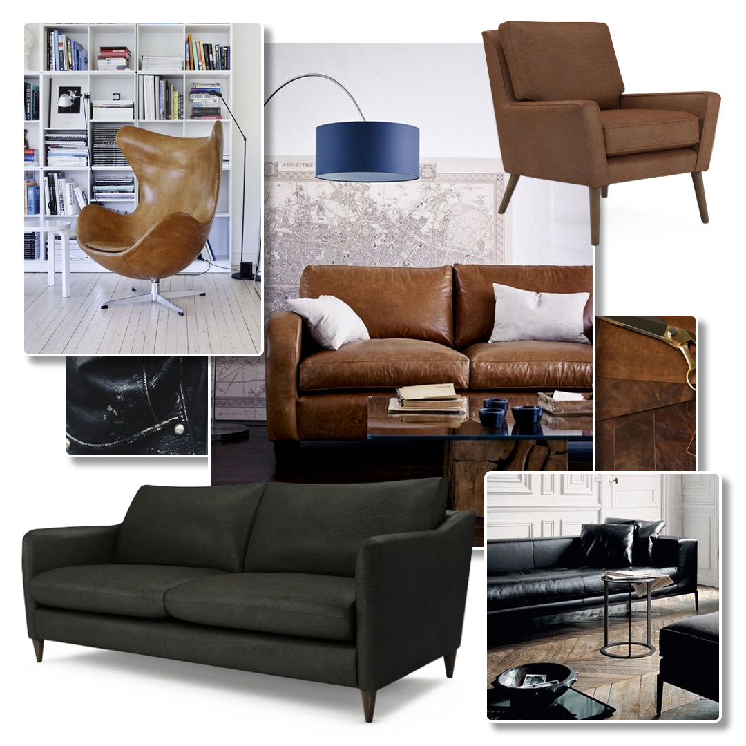 Leather Sofa Inspiration