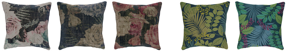 Floral and Botanical Cushions