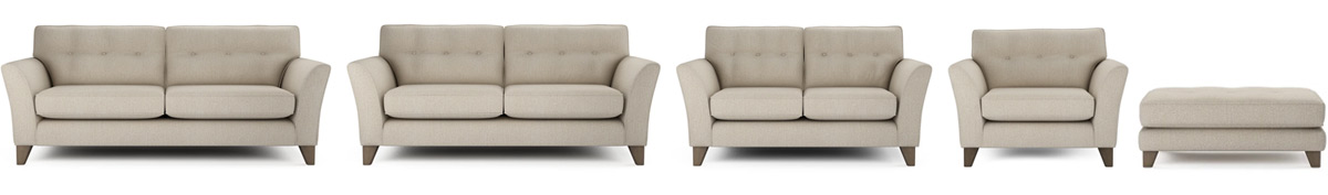 Melody Sofa Sizes