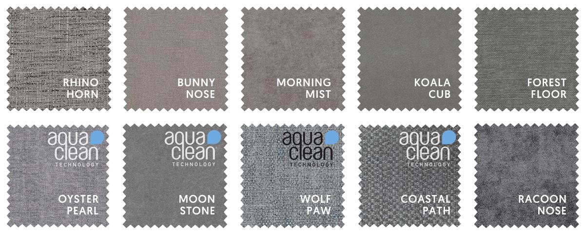 Mid Grey Sofa Fabrics