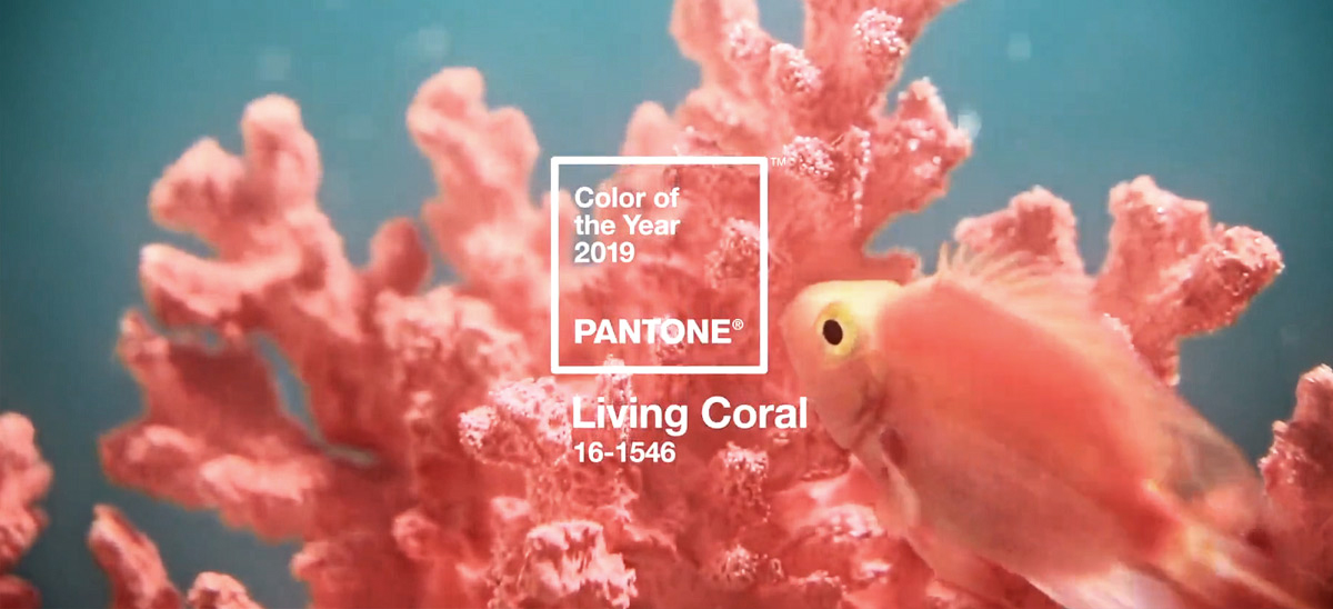Pantone Colour of the Year - Living Coral