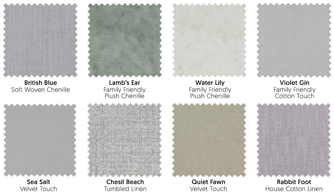 Pale Fabrics