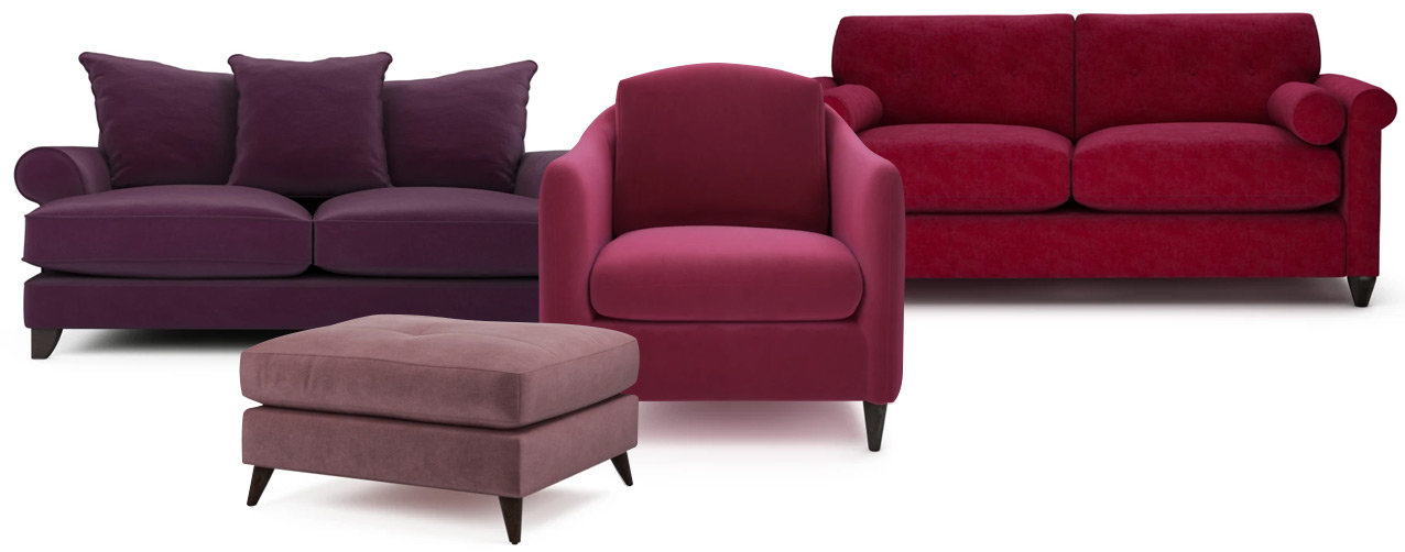 Vibrant British-Made Sofas