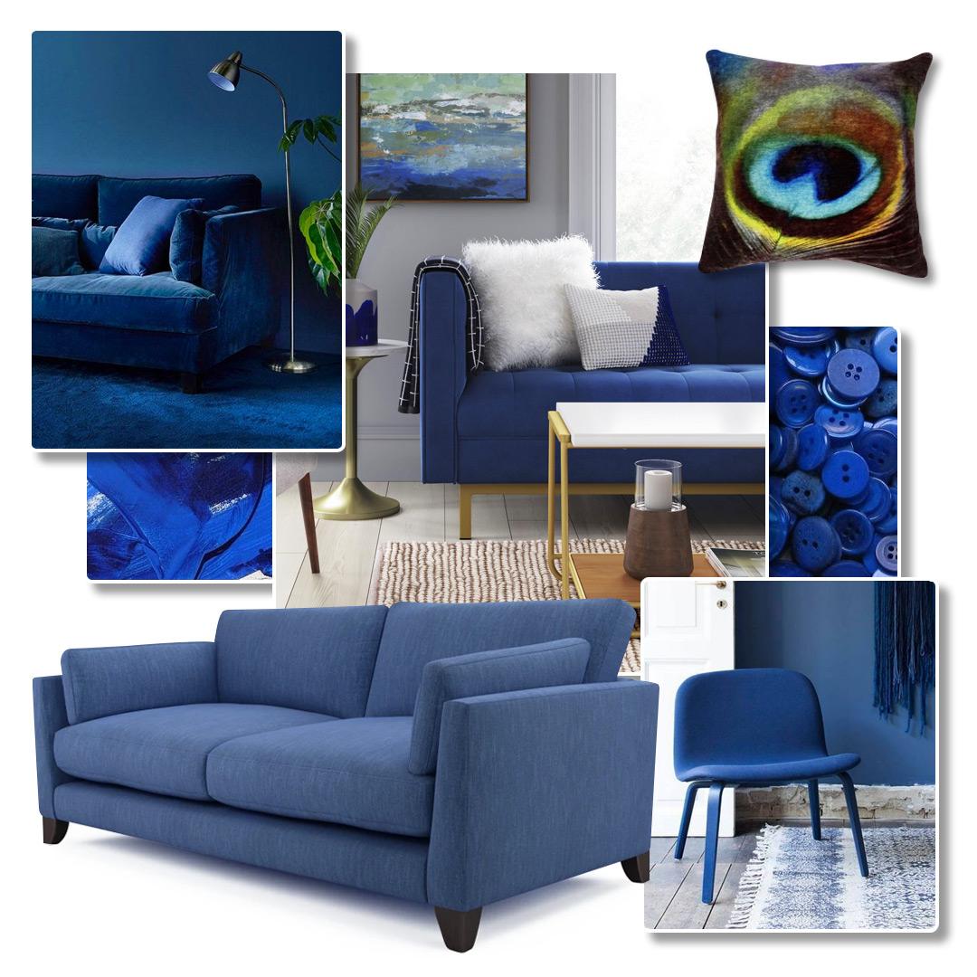 Classic Blue Interiors on Pinterest