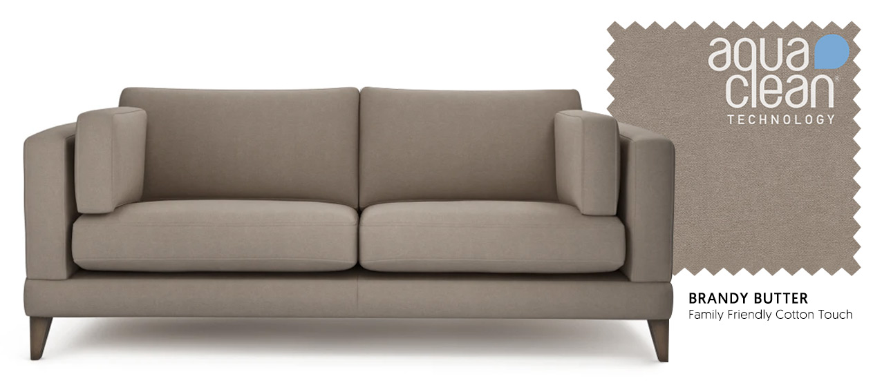 Mallory Sofa in Brandy Butter - Neutral Sofa