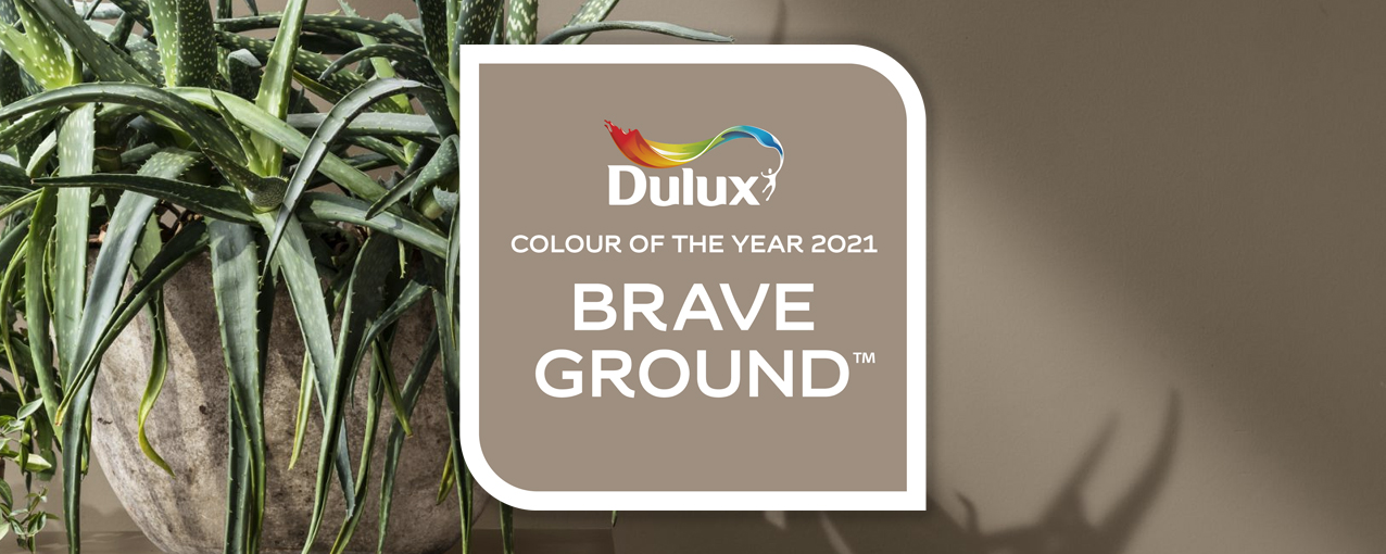 Dulux Colour of the Year - Brave Ground