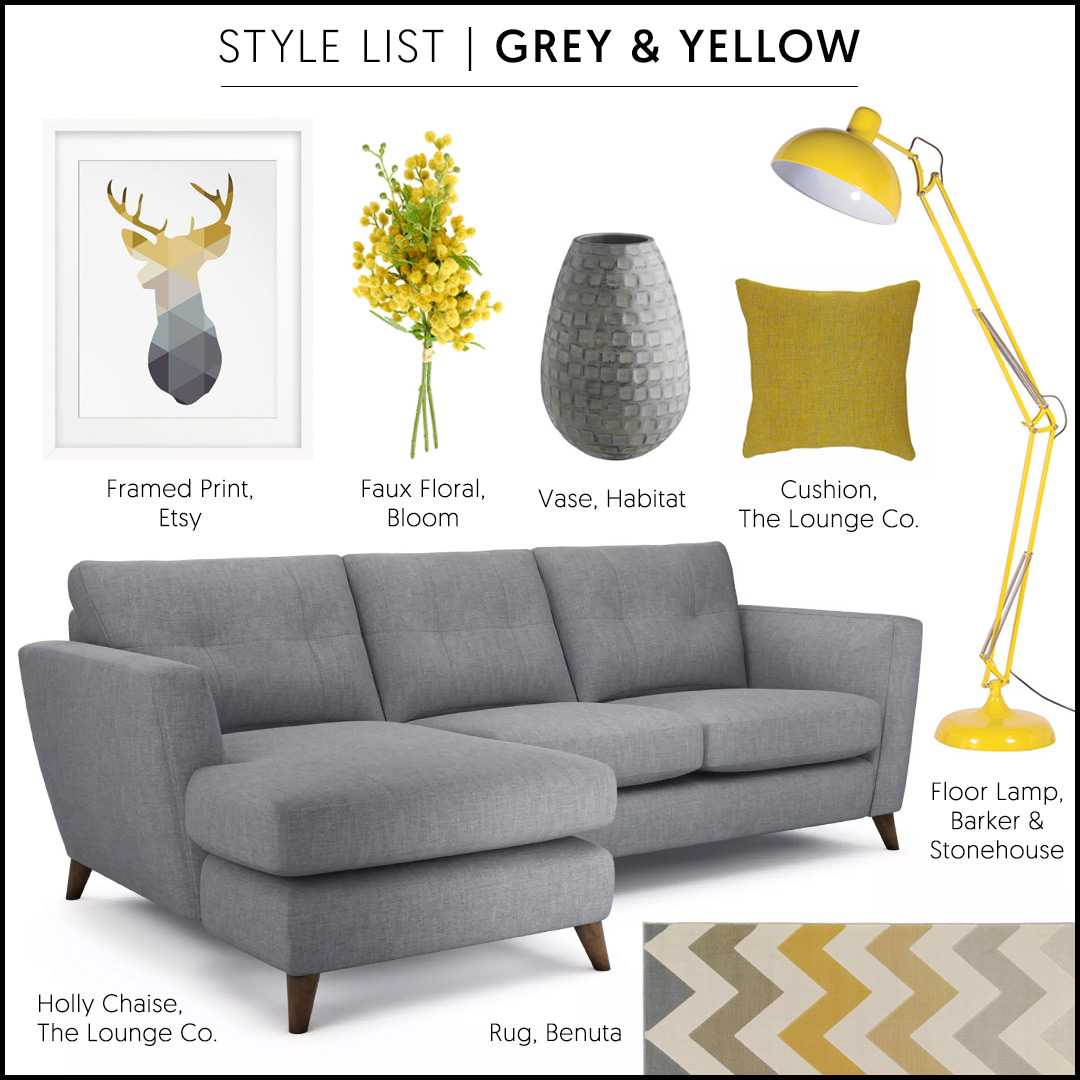 Holly Chaise End in Family Friendly Kaleidoscope Weave - Oyster Pearl (A stylish grey sofa)