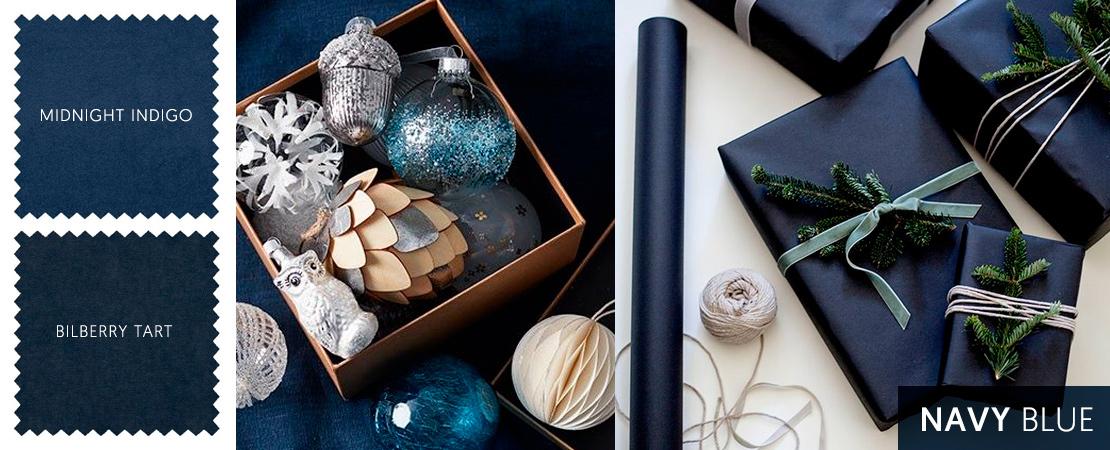 Navy Blue Christmas