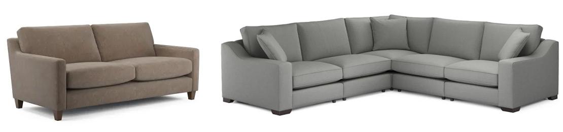 Japandi style sofas