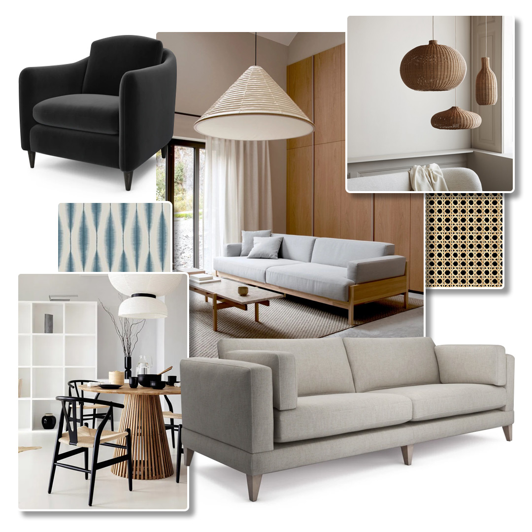 Japandi Sofa - Mallory
