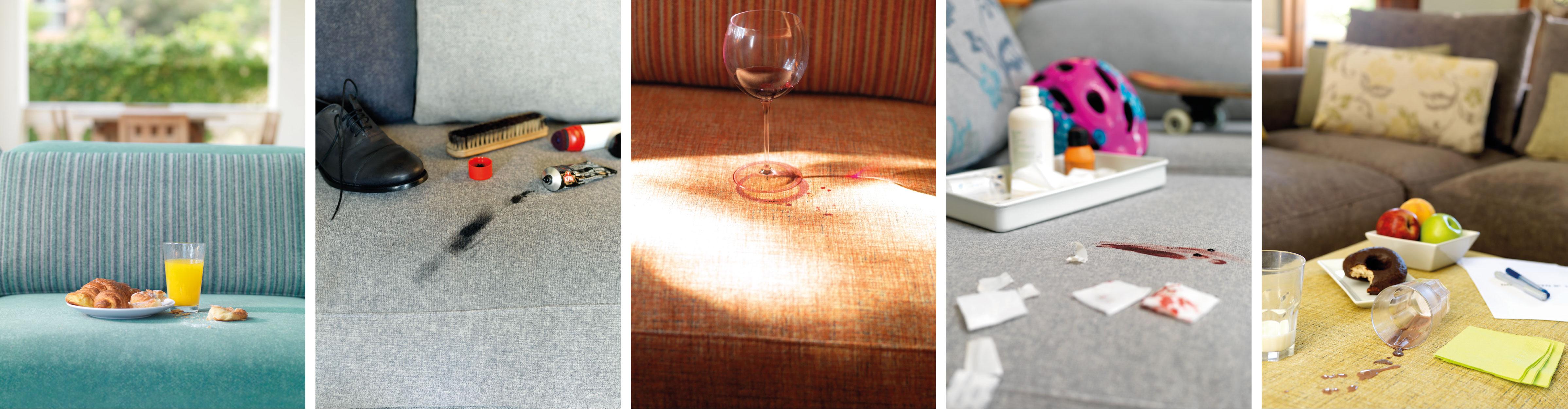 Family Friendly Standard Aquaclean Fabrics   A lot of life happens on your sofa