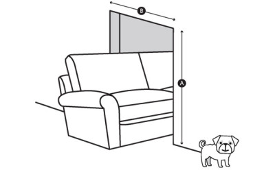 To Make Sure Your New Sofa Will Get Through Your Front Door, Youu0027ll Need To  Measure The Doors Height (A) And Width (B). Check That The Width Of Your  Door Is ...
