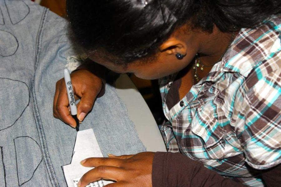Jeans, Scissors And The Gospel