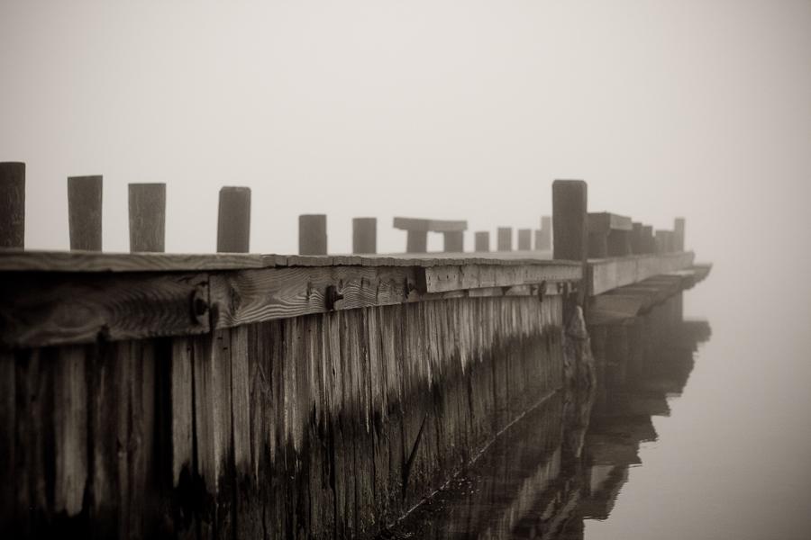 Foggy Pier-1