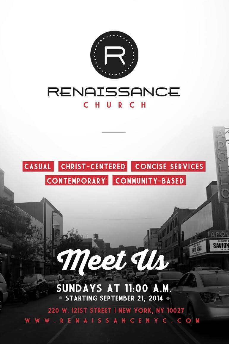 Launch Sunday in Harlem!