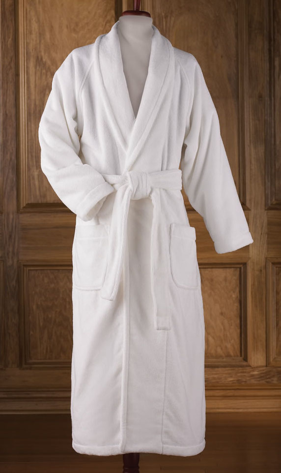 fa660a910db84 Them.gifts - White Terry Cloth Customized Turkish Robe