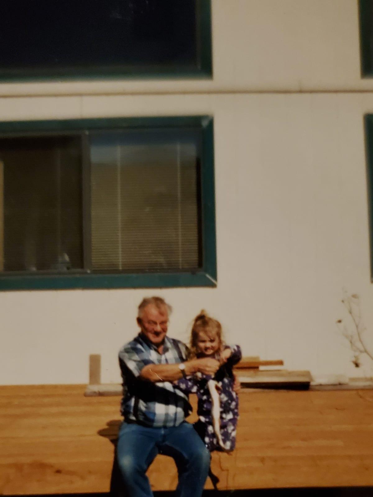 Fish with grandpa