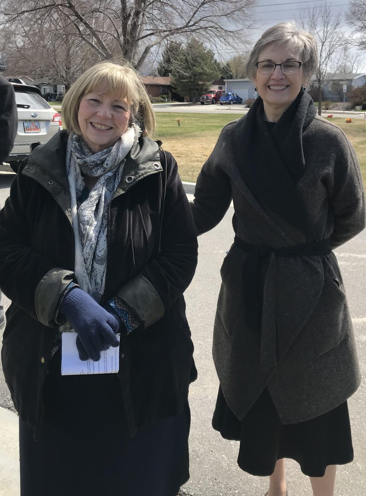 Jeannie Barker Watson & Meredith Barker Dreschel