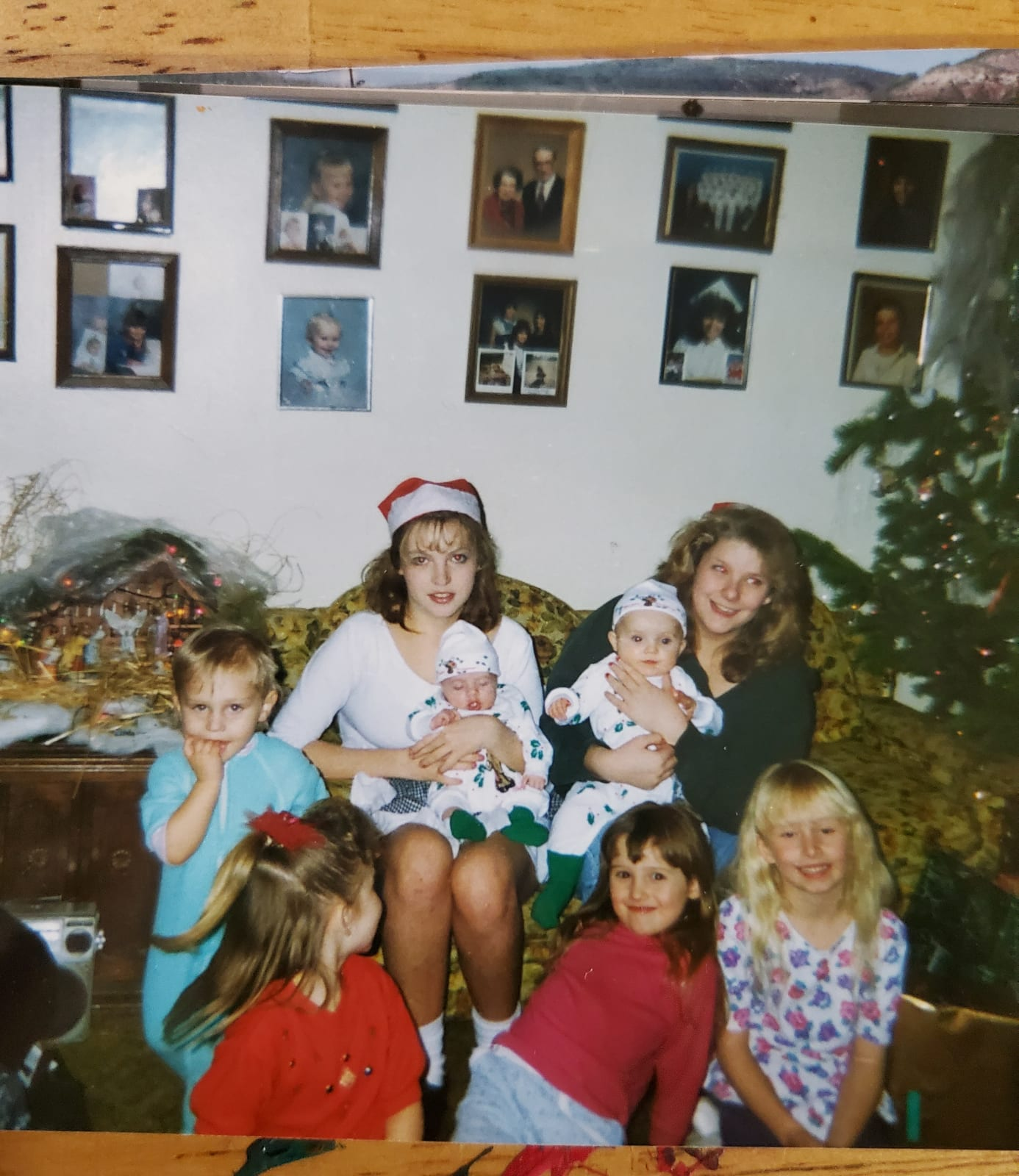 Christmas eve at grandma and grandpa lashers