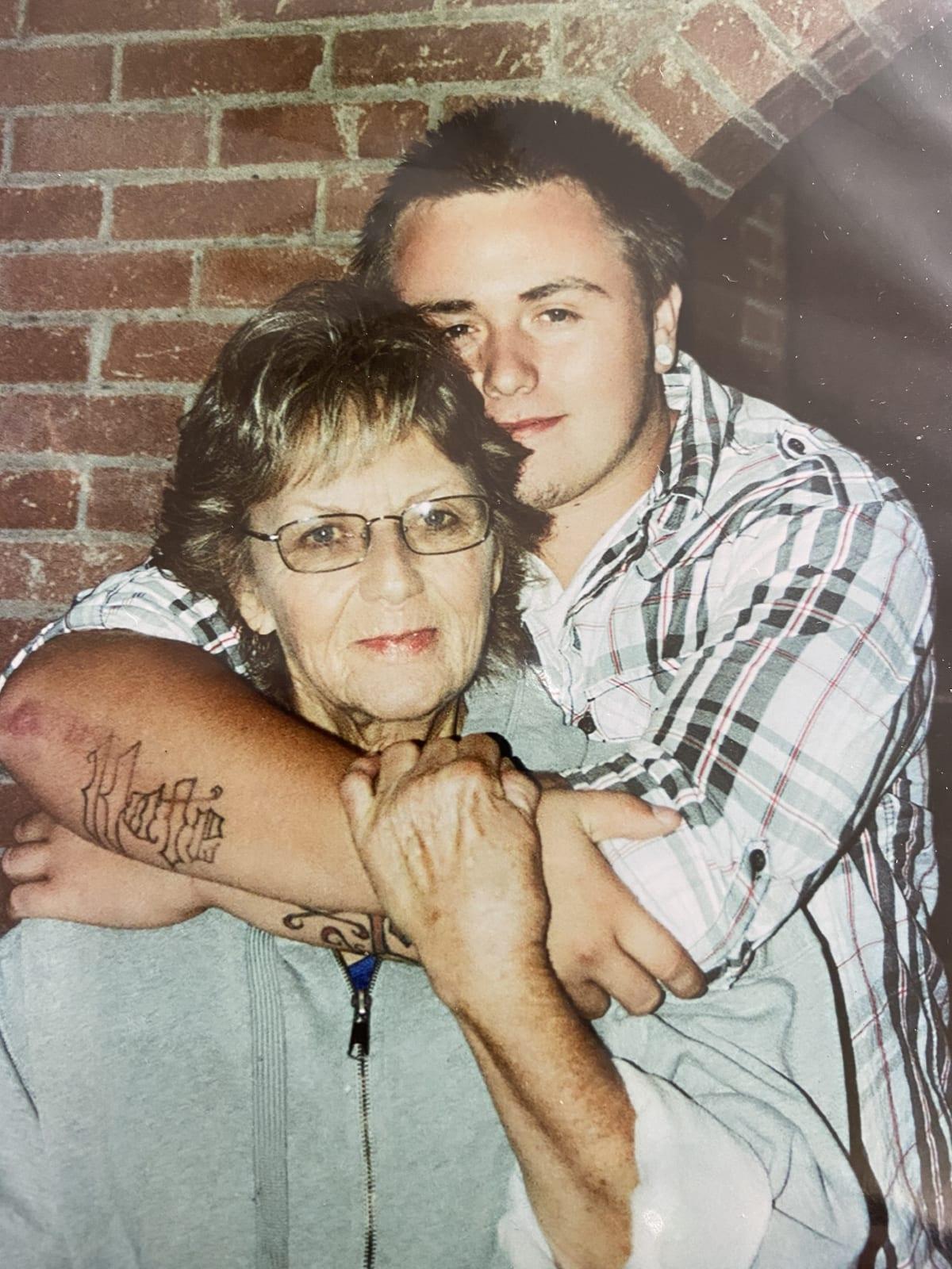 Barbara and grandson Dakota