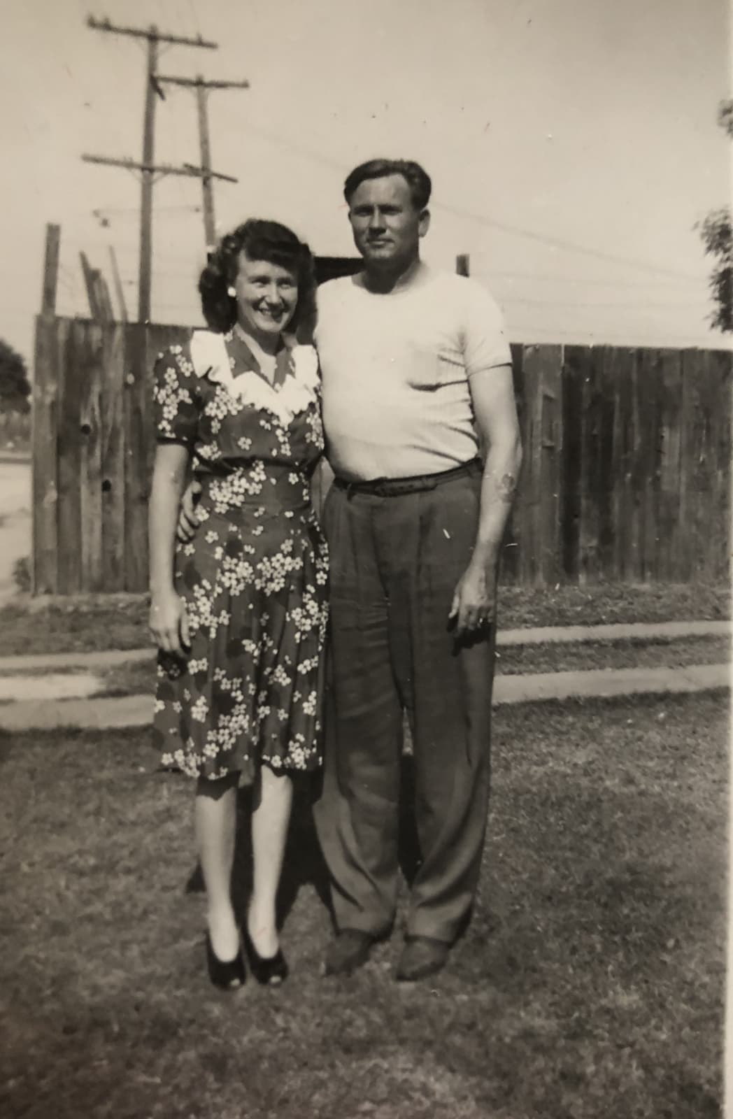 Bob and Vi, year unknown.