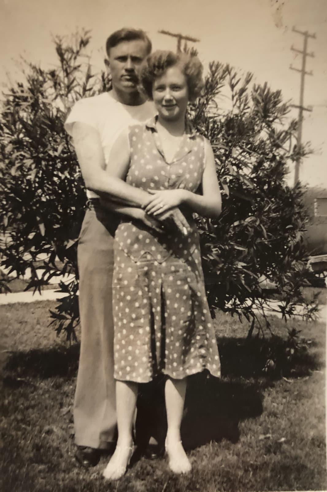 Bob and Vi, 1934.