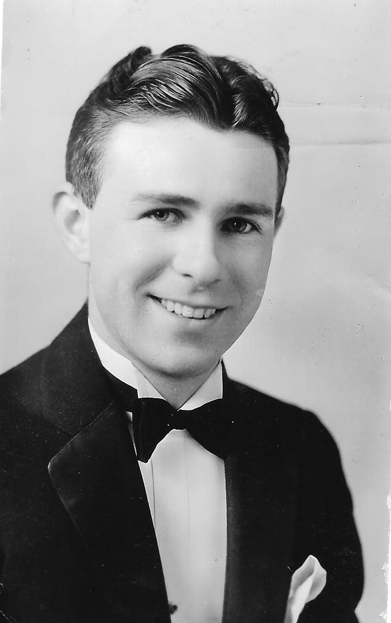Bill's High School Graduation Picture, Logan High Class of 1931