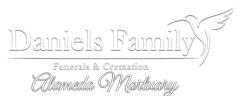 Almeda Mortuary - logo