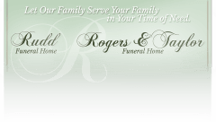 Logo - Rudd Funeral Home/Rogers & Taylor Funeral Home