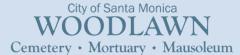 Logo - City Of Santa Monica Woodlawn Cemetery, Mausoleum & Mortuary