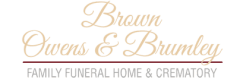 Logo - Brown Owens & Brumley Family Funeral Home & Crematory