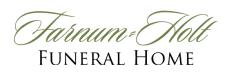 Logo - Farnum Holt Funeral Home