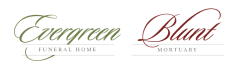 Logo - Evergreen Funeral Home