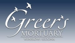Logo - Greer's Mortuary