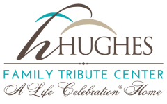Hughes Family Tribute Center - logo