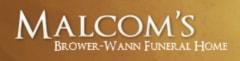 Malcom's Brower Wann Funeral Home - logo