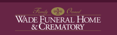 Logo - Wade Family Funeral Home