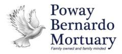Logo - Poway Bernardo Mortuary