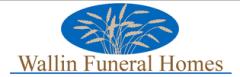 Wallin's Parlier Funeral Home - logo