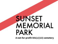 Logo - Sunset Memorial Park
